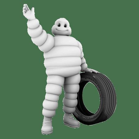 Mascote Michelin